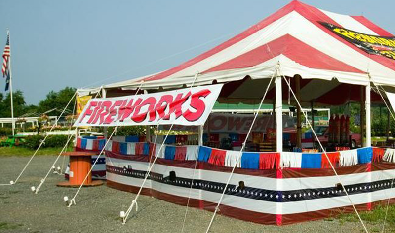 Olde Glory Fireworks Tent Locations